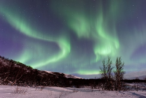 Northern Lights over Nunavut